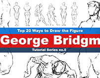 (George Bridgman) Top 20 Ways to Draw the Figure