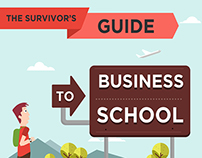 Survivors guide to Business school Infographic