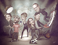 Even5 Caricature Promo Image