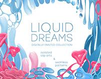 Liquid dreams - digital collection