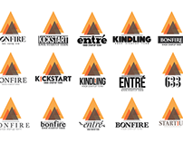 Kickstart: Startup Term Logotypes