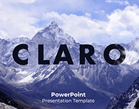 Claro Free PowerPoint Presentation Template