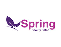 Spring Beauty Salon Logo Design