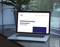 UI/UX tarvly landing page