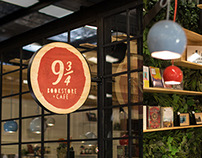 9 3/4 BOOKSTORE + CAFÉ / Diseño Interior