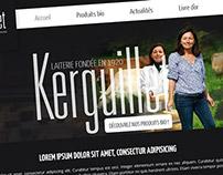 Laiterie Kerguillet Website