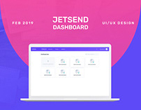 JetSend Dashboard