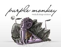 Purple Monkey Ident