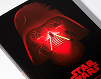 STAR WARS Trilogy Book Covers