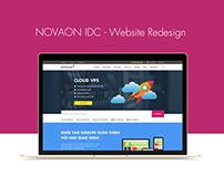 Novaon IDC Website Redesign