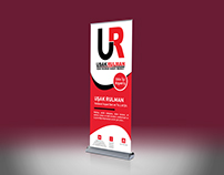 Uşak Rulman Hardware Inc. Roll Banner Design