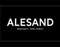 Alesand- Free Font