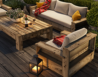 Terrace, patio, outdoor space