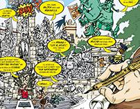 """Humor gráfico para revista """"El Conciso"""""""