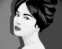 Vector Portrait-SongHyeKyo