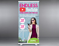 Standee Design | Endless YouTube Streaming