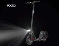 Powerful electric scooter design