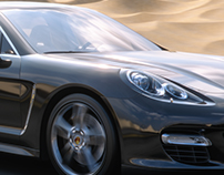 Panamera rendering test 3ds| vray