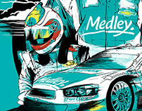 MEDLEY – STOCK CAR