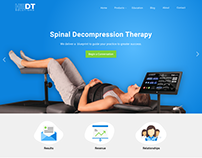 Web design for medical products