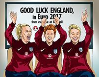 Vauxhall sponsorship of England Women's football team