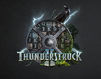 Thunderstruck II custom logo design