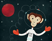 Space Walking Monkey: Critter of the Week