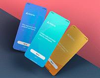 App UI Mockup Template For Dribbble