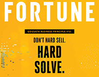 "Fortune Magazine ""Go Beyond"" Cover Wraps"