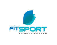 FitSport Logo Combination