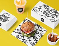 Banger Burger • Branding 2.0