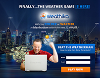 Weathika Website Design