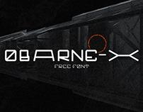 OBARNE-X - FREE FONT