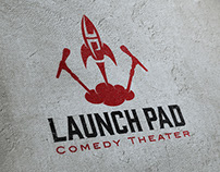Logo for Launch Pad Comedy Theater