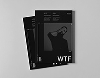 cover for wtf mag //