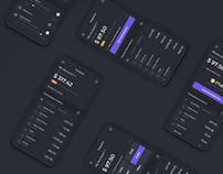 Finance App Main Screen