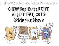 CHEW PopTart Drive