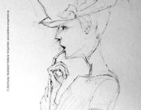 Sketches / Fashion-Drawings