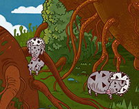 Environmental Illustration-Rotabaga Island