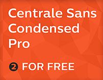 Centrale Sans Pro Condensed