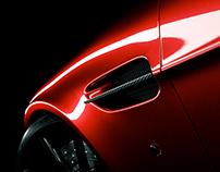 V12 Vantage - Quick car paint and carbon tests