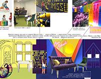 Sun School / проект комнаты для встреч в детском саду