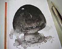 Creepy Cute Mushroom Boi + process