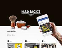 Mad Jack's . Social Media