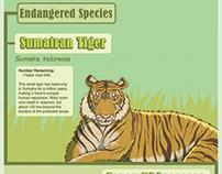 Animal Extinction Infographic