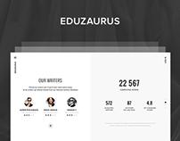 Eduzaurus - Landing Page LIVE