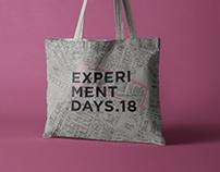 Experimentdays.18 - Rebranding /// Berlin Germany