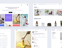 Beauty Social Website - UI/UX Case Study