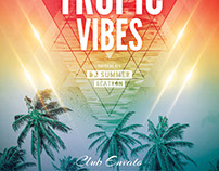 Tropic Vibes Flyer