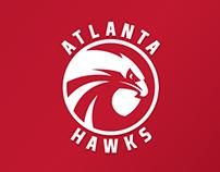 Atlanta Hawks logo concept